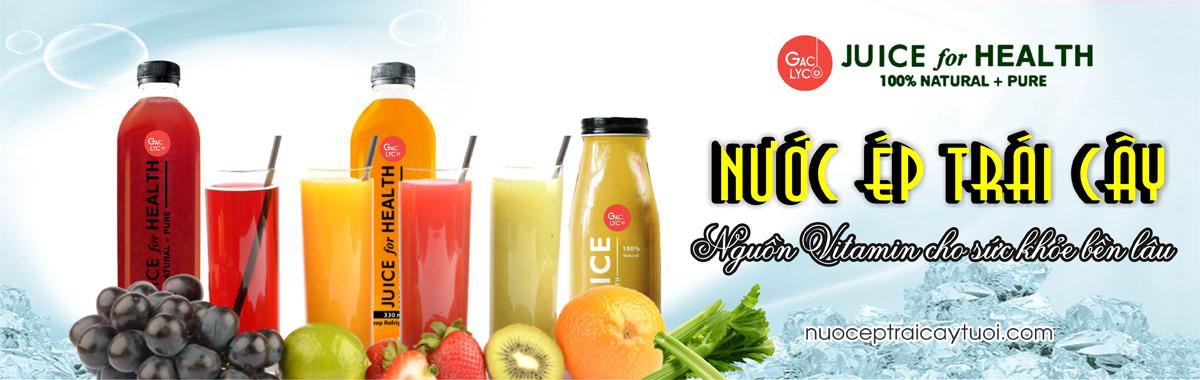 nước ép trái cây juice for health